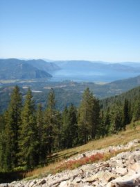 Clark Fork Delta from Scotchman's Peak