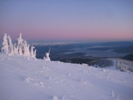 Pend Oreille from Schweitzer Mountain
